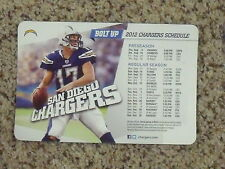 2012 San Diego Chargers (NFL) Philip Rivers team issued magnet schedule