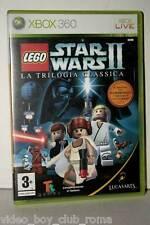 LEGO STAR WARS II LA TRILOGIA CLASSICA GIOCO USATO ITALIANO XBOX 360 FR1 36640