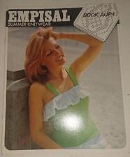 Knitting Machine Pattern Book AUP4 - Empisal Summer Knitwear
