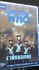 Doctor Who - L'Invasione - RARE ITALIAN IMPORT Patrick Troughton BBC 4 disc set
