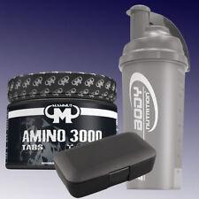 (50,35€/kg) Mammut Amino 3000 300 Tabletten + Shaker u. Pillenbox in Schwarz