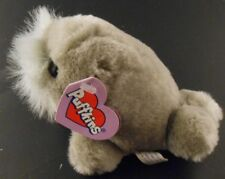 Whiskers Walrus Puffkins Bean Bag Plush 1998 Swibco with all Tags