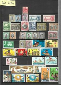 BIS_LIKE:many stamps diff. GB Col. w.g. NH MH/ used / yellow stains 3 sh. L-230