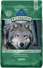 Blue Buffalo Wilderness Grain Free, Natural Adult Dry Dog Food, Duck, 24 Lbs