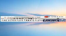 Querflöte YAMA. 925 Sterling-Silver plate, Flauta Flauti Flute Flute travers