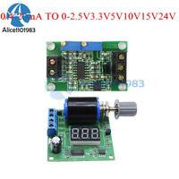 12V/24V Signal Generator Board 0.1/4-20mA To 0-24.0V Current Voltage Transmitter
