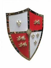"24"" Medieval Royal Crusader Lion Shield Armor with Handle Brand New"