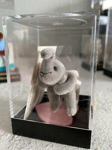 Unique World of Miniature Bears ELLIE ELEPHANT #673 BY SUE CHAFFEE CASE & COA