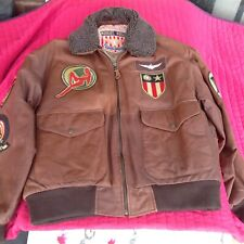 Michael Hoban Designer Leather Jacket (L) Rare, Retro, Authentic