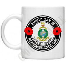 Royal Marines Gibilterra OGNI GIORNO RICORDO giorno ARMISTIZIO Militare TAZZA 10 OZ (ca. 283.49 g)