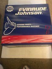 BRP OMC Johnson Evinrude 177136 14.25 X 21 RH  Aluminum Propeller