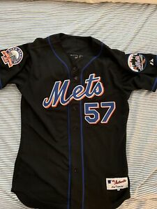 Authentic Majestic Johan Santana New York Mets Jersey size 44