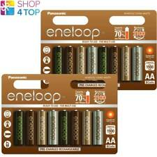 16 PANASONIC ENELOOP TONES EARTH RECHARGEABLE AA HR6 BATTERIES 1.2V 1900mAh