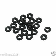20PCS Black Rubber 5mm x 2mm x 1.5mm Oil Seal O Rings Gaskets Washers