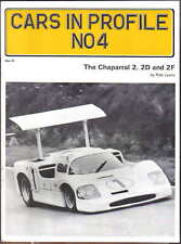 Chaparral 2, 2D & 2F Cars in Profile No.4 by P Lyons history, racing records +