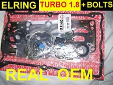 Audi A4 1.8 turbo OEM Head Gasket Set + BOLTS 1996 - 1999 for AEB ATW engines