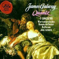 Joachim Quantz 4 Concertos flautí concerti James Galway Jörg Faerber