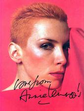 Annie Lennox Preprinted Autograph Signed Photo Reprint 8x10 Eurythmics Band NEW