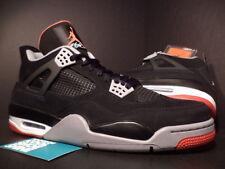 2012 Nike Air Jordan IV 4 Retro BLACK CEMENT GREY FIRE RED WHITE 308497-089 11