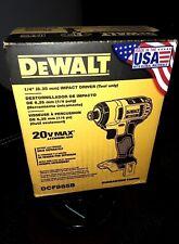 "DeWALT DCF885B 20V Li-Ion 1/4""  Cordless Impact Drill"