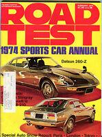 Road Test Magazine February 1974 Sports Car Annual VGEX 082516jhe