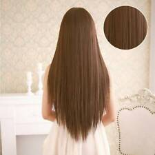 Ladies Costume Cosplay Long Straight Fancy Dress Womens Full Hair Wigs Wig Party