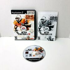 NCAA Football 10 Sony PlayStation 2 PS2 Video Game Complete With Manual