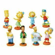 Gacha Tomy TYC The Simpsons Body Bobble Figures Series #5 COMPLETE SET 8 Figures