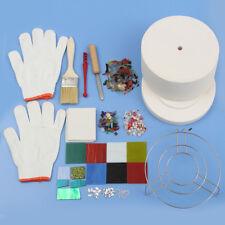 15Pcs Large Microwave Kiln Complete Kit Glass Fusing Diy Jewelry Art Tools Set