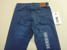 116 WOMENS NWT LEE RIDERS MID STR8 DK BLUE WASH STRETCH JEANS 6 $90 RRP.