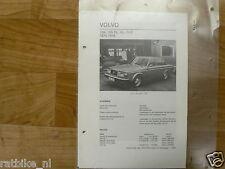 VO11-VOLVO 264, 265 DL,GL,GLE 1975-1976 -TECHNICAL INFO
