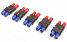 Lot(5) 3.5MM Bullet Connector to Female EC3 Style Adapter for RC HXT Power