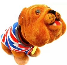 Nodding British Bulldog British Union Jack Waistcoat Large Souvenir Gift