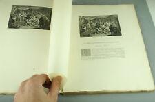 Le Roman Comique SCARRON Pater Dumont Le Romain 1883 Gravures livre ancien Book