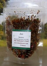 Isis Incense 1 oz Wicca meditation Altar Ritual Spell Craft Wiccan