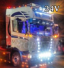 14x Truck Camion Hgv 24 V Xenon Blanc Ampoules à DEL T10 507 510 Scania Volvo DAF