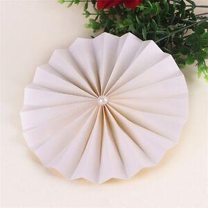 2-pack Multicolor Paper Fans Ornaments Christmas Wedding Party Decorations 30cm