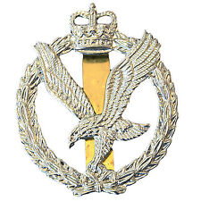 OFFICIAL Issue Army Air Corps Cap / Beret BADGE (helicopter cavalry Apache Fire