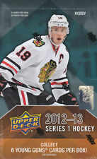 2012-13 Upper Deck Hockey Series I Factory Sealed Case - 12 Box Case