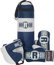 Kids Boxer Kit Boys Boxing Training Equipment Martial Arts Heavy Punching Bag