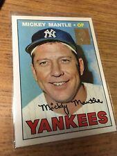 TOPPS BASEBALL 1996 MICKEY MANTLE COMMEMORATIVE CARD 150 YANKEES 17 OF 19 CREASE