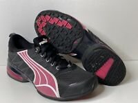 Puma Voltaic  Womens Athletic Running Training Shoes Size 10 Black Pink