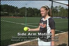 12 Inch Softball Single PitchingThrow Resistance Training Aid, Ages 16-Adult