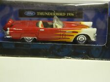 New Ray - Xtreme Machines 1956 THUNDERBIRD 1/43 Scale Mint in Box Red/Wht Int.}