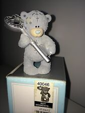 "LARGE 9cm / 3.5"" HIGH BOXED ME TO YOU FIGURINE TATTY TEDDY BEAR ~ KEY MOMENTS"