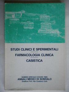Studi clinici e sperimentali Farmacologia clinica Curti Sondalo medicina clinica
