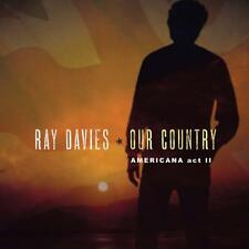Our Country : Americana Act II (2LP) - Ray Davies (Vinyl, w/Download, 2 Discs)