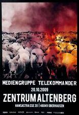 MEDIENGRUPPE TELEKOMMANDER - 2009 - Konzertplakat