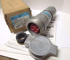 CROUSE HINDS APR6465 ARKTITE PLUG ALUMINUM 3W 4P  600V  NEMA 4      <824k2
