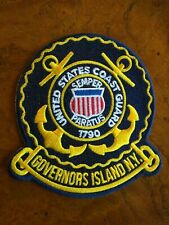 United States Coast Guard Training Center Governors Island - Embroidered Patch